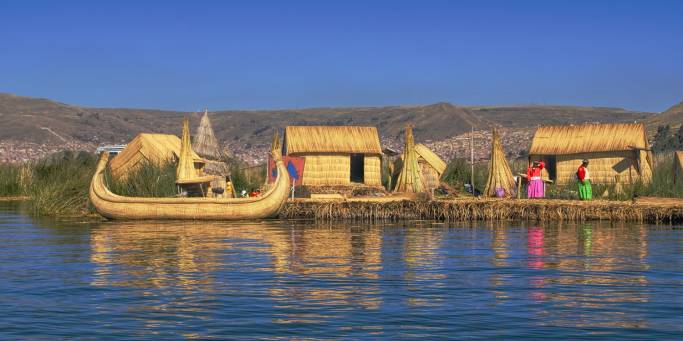 Uros Islands - Peru - South America