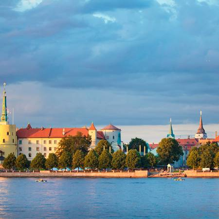Best of The Baltics Main Image - Riga Castle - Eastern Europe Tours