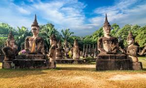 Buddha Park in Vientiene - Inside Indochina - On The Go Tours