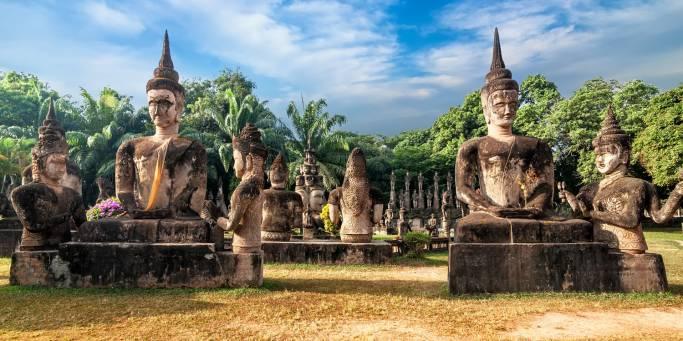 Buddha Park in Vientiene | Laos
