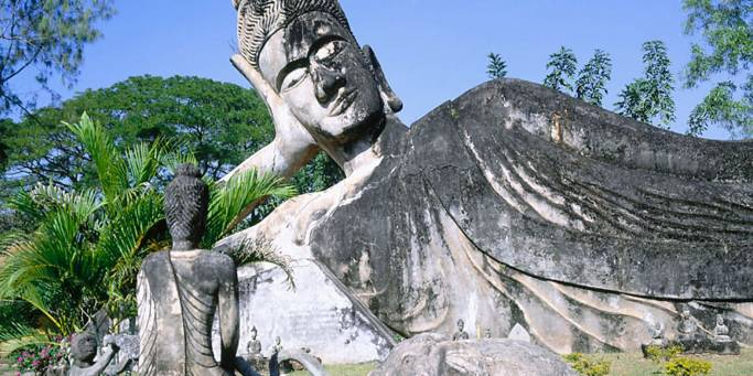 Reclining Buddha | Vientiene | Laos