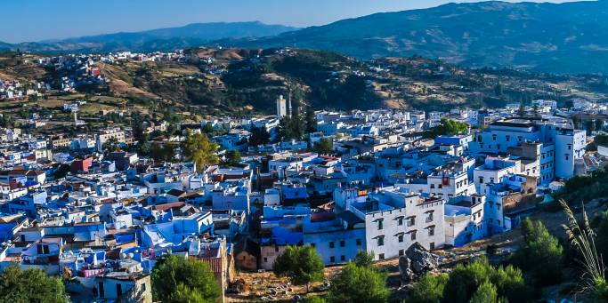 View of the city | Chefchaouen | Morocco