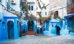 Chefchaouen Streets Morocco