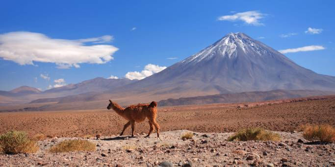 The Atacama Desert is a real highlight of our tours to Chile