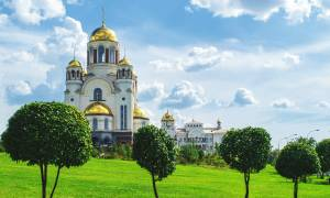 Church on Blood Yekaterinburg - Russia Tours - On The Go Tours