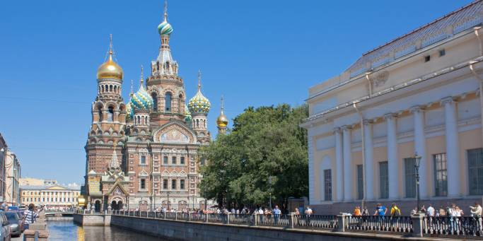 Church on Spilled Blood | St Petersburg | Russia