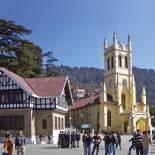 Town scene | Shimla | India