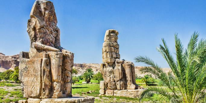 Colossi of Memnon | Luxor | Egypt
