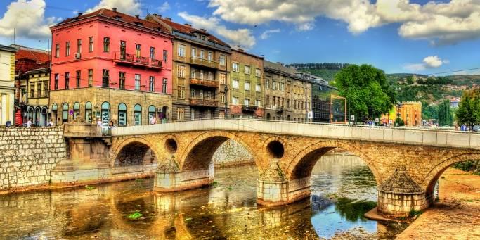 Colourful Sarajevo   Croatia