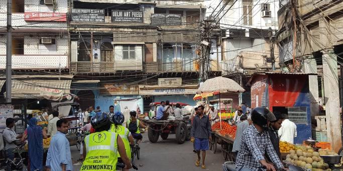 Exploring the backstreets of Delhi by bike | India