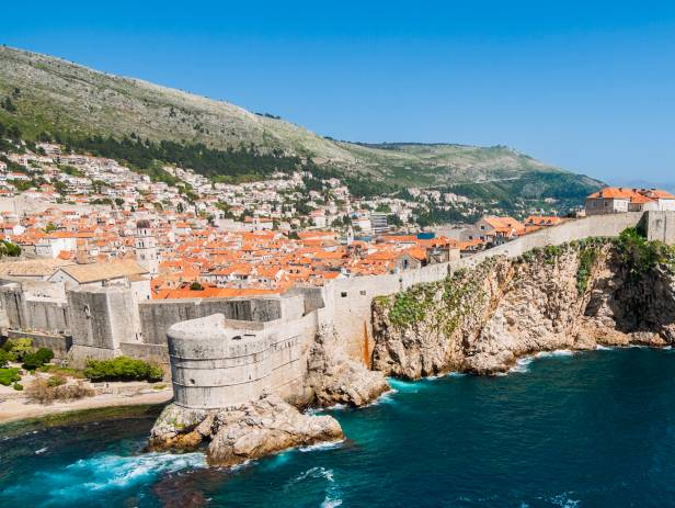 View of Korcula, home to stunning, historical buildings
