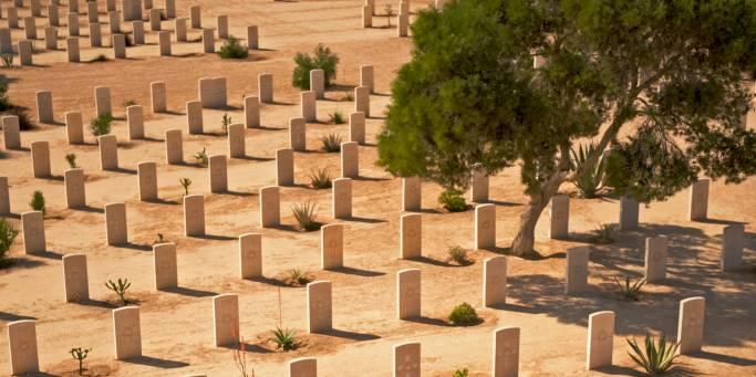 Memorial site in El Alamein | Egypt