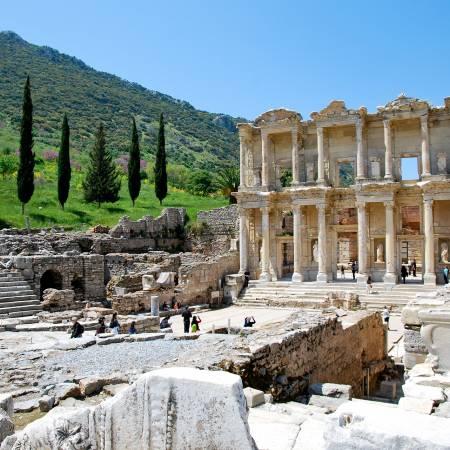 Ephesus-Library-of-Celsus-Turkey