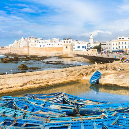 Essaouira Boats - Morocco Tours - On The Go Tours
