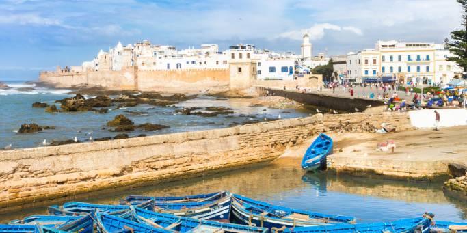 Boats in Essaouira | Morocco