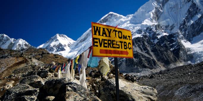 Journey to Everest Base Camp on our Nepal trekking holidays