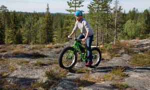 Fat Bike Tour 2- Yllasjarvi - Finland - On The Go Tours