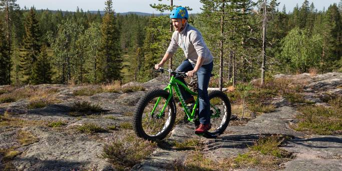 Fat Bike Tour 2- Yllasjarvi - Finland - On The Go Tours