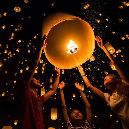 Full Moon Festival Thailand - Thailand Tours - On The Go Tours
