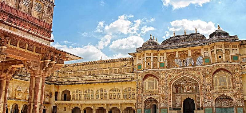 Gateway to Amber Fort in Jaipur | India
