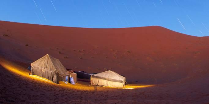 Meteor Shower | Sahara | Morocco