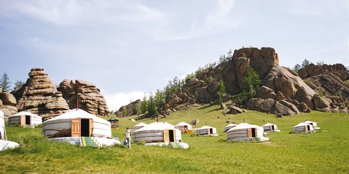 Ger Camp Terelj National Park | Trans-siberian Railway | Mongolia