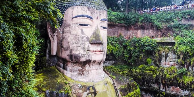 Giant Buddha Leshan | China