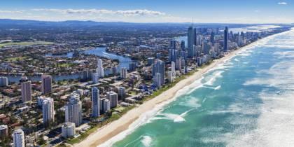 Gold Coast - best places to visit in Australia menu image