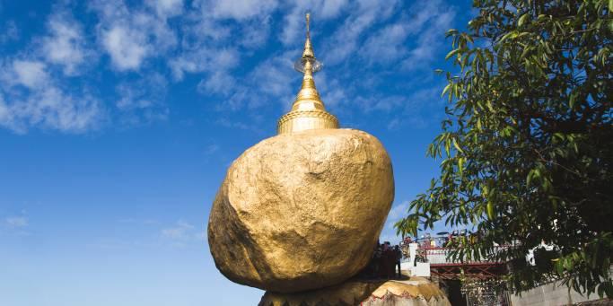 Golden Rock Pagoda | Myanmar