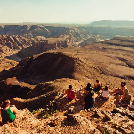 Group Fish River canyon - Africa Overland Safaris - Africa Lodge Safaris - Africa Tours - On The Go
