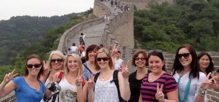 Group at Great Wall - China Tours - On The Go Tours