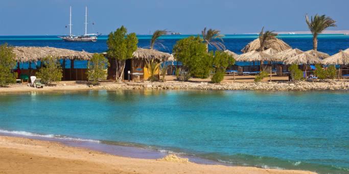 By the beach in Hurghada | Egypt