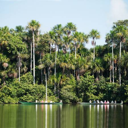 Hacienda Concepcion by Inkaterra canoe excursion in the Amazon - Peru Tours - South America Tours -