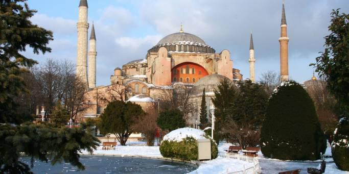 Hagia Sofia in winter | Istanbul | Turkey