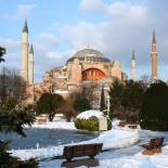 Hagia Sofia in winter | Istanbul | Turkey