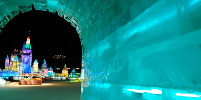 The Harbin Ice Festival | China