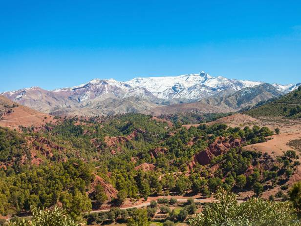 The High Atlas mountain range