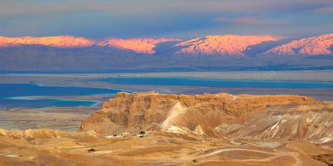 Sunset at Masada | Israel