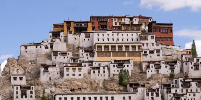Buddhist Monastery of Tikse | Leh and Ladakh | India