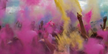 Holi Festival FAQ page tab menu image - On The Go Tours