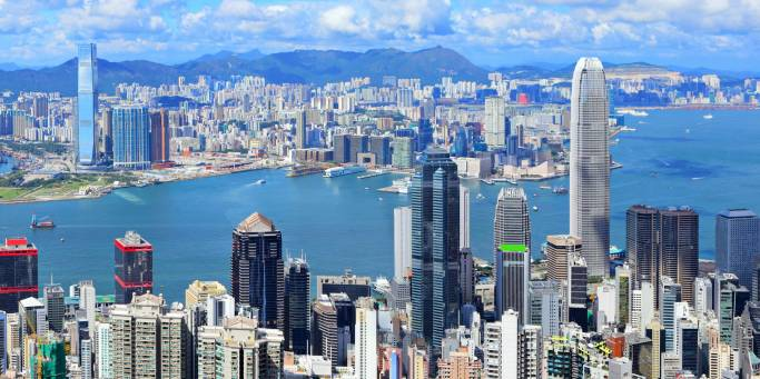 View of the city | Hong Kong | China