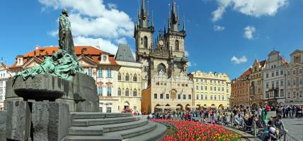 Hungary - Prague Old Town Square - Best Places to Visit