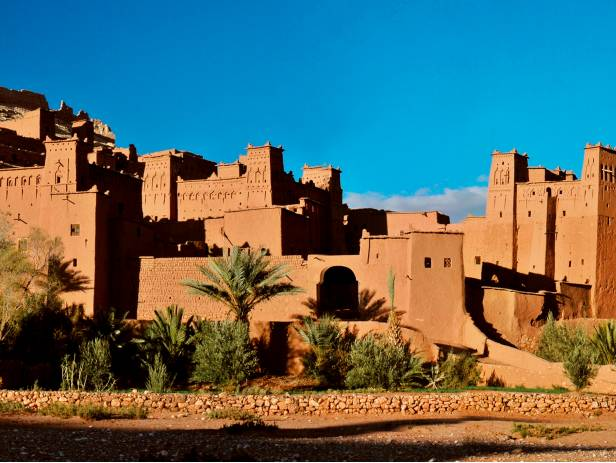 The walls that surround the city of Taroudant