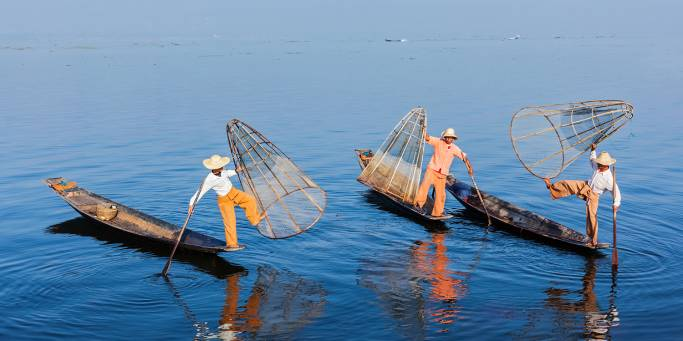Fishermen on Inle Lake | Myanmar