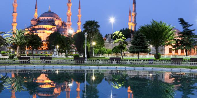 The Bosphorus and Blue Mosque | Istanbul | Turkey