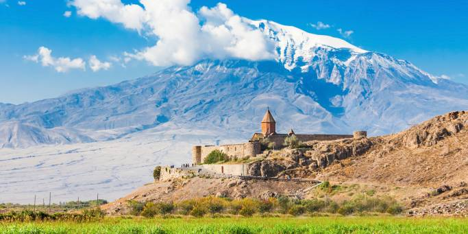 Khor Virap Monastery and Mt Ararat | Armenia