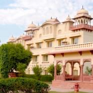 Jaipur Jai Mahal Palace exterior