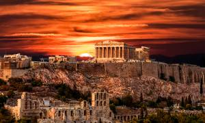 Jewels of Greece Express main image - Acropolis at sunset - Greece