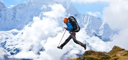 Jumping in Himalayas - Himalayas Tours - On The Go Tours