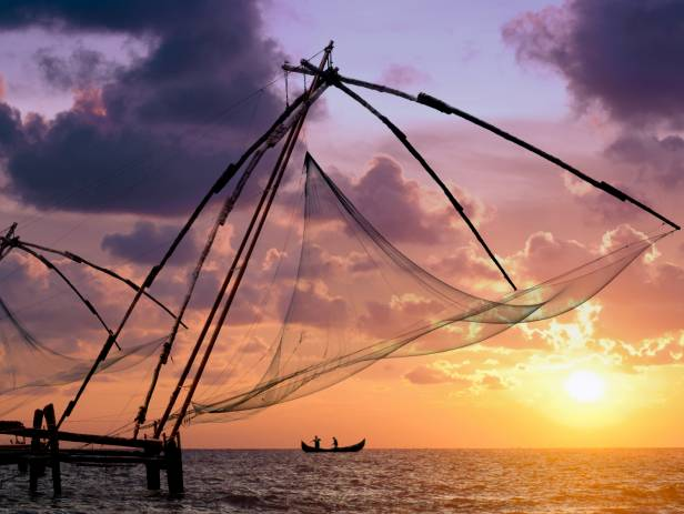 Kochi Chinese fishing nets - Highlight